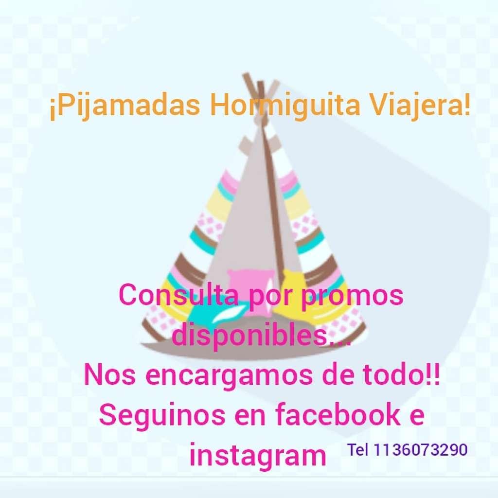 Pijamadas Hormiguita Viajera