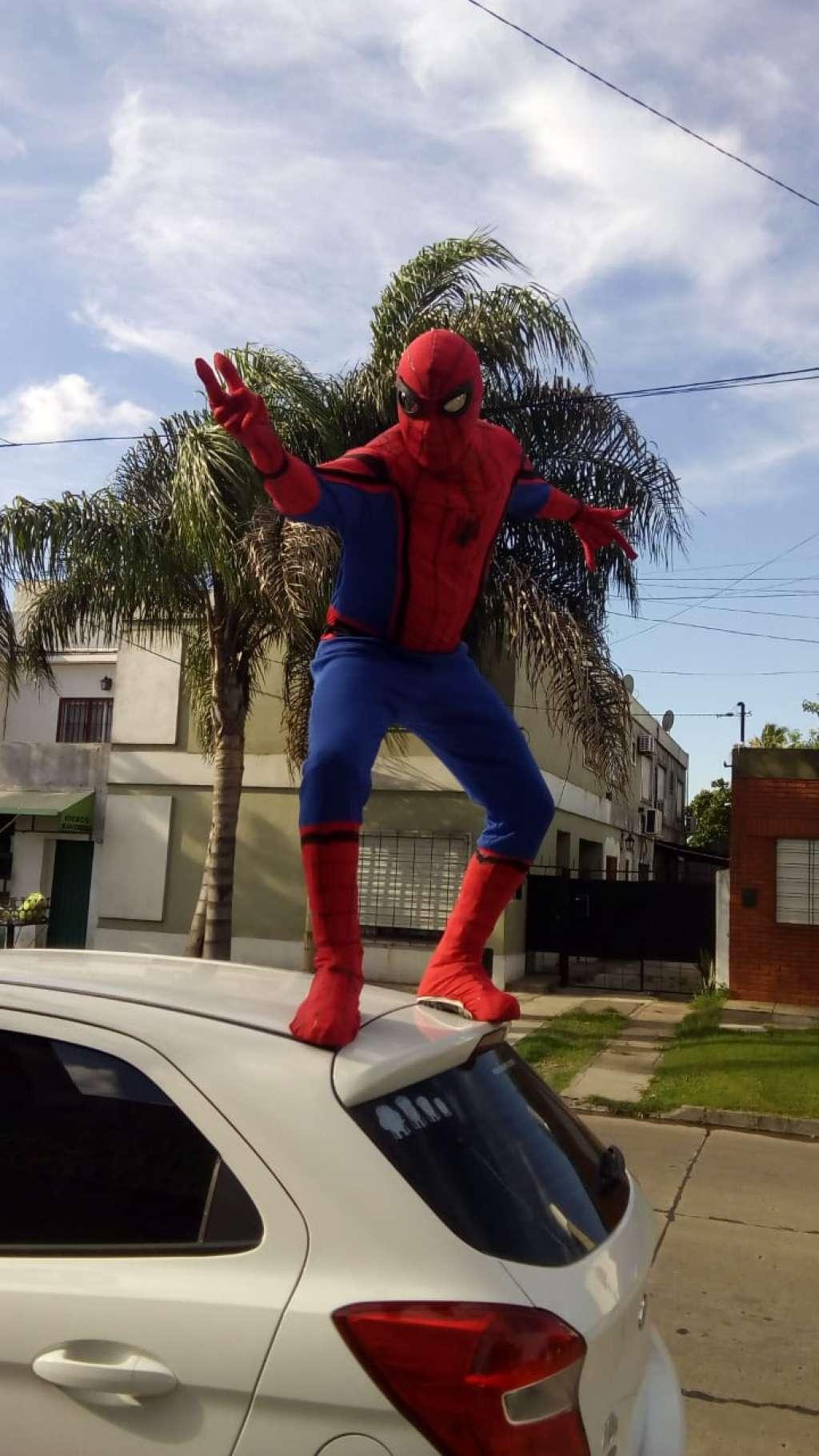 Show de Hombre Araña para tu cumple