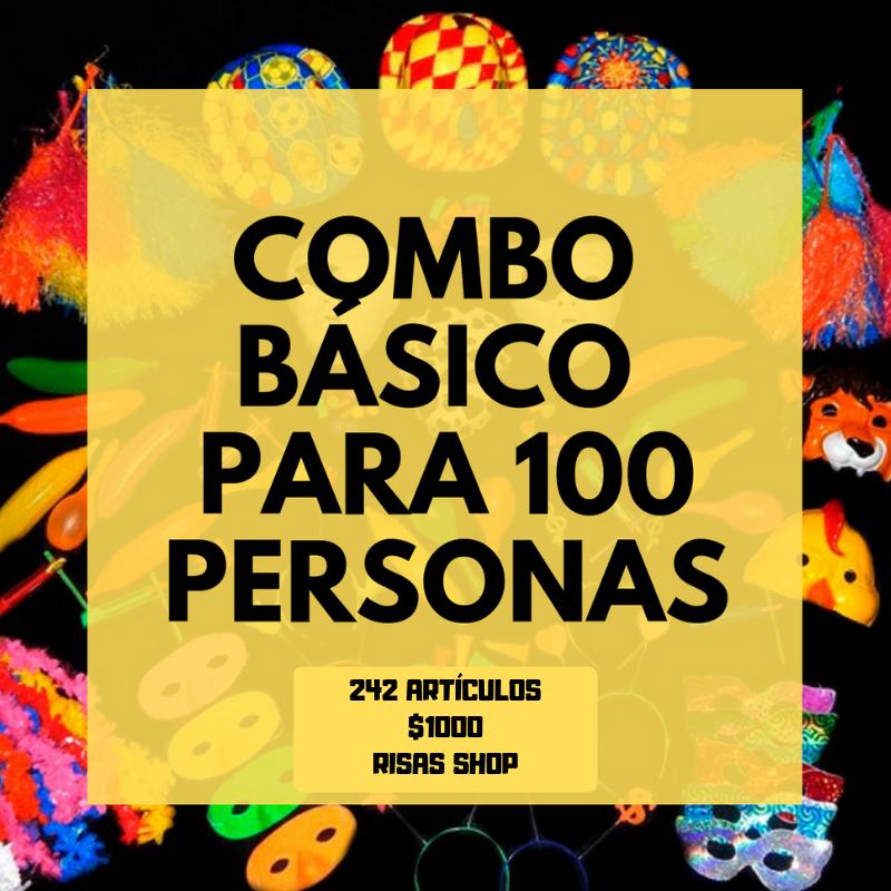 COMBO COTILLÓN CARIOCA BÁSICO