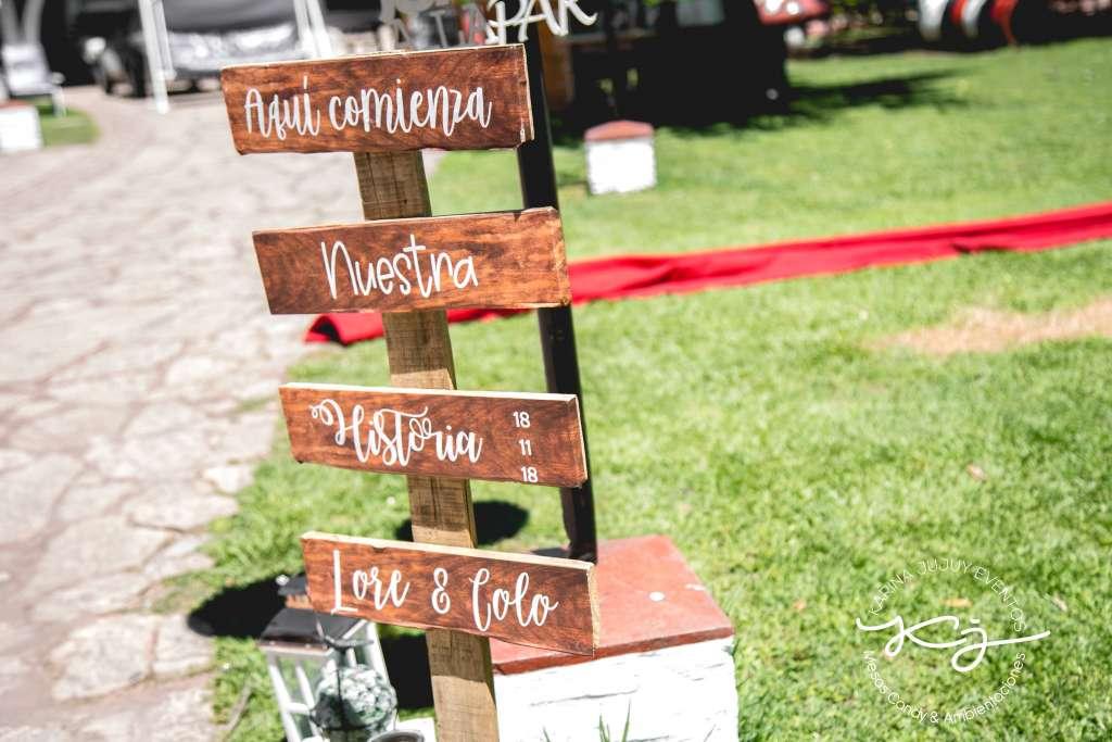 Ambientación Casamiento Karina Jujuy Eventos