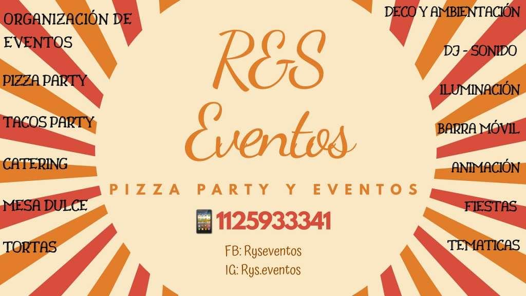 R&S Eventos - Pizza party y eventos
