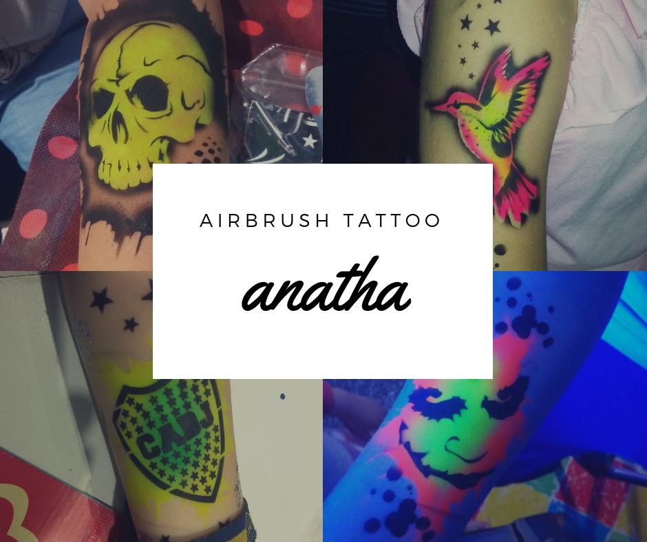 tatuajes temporales anatha
