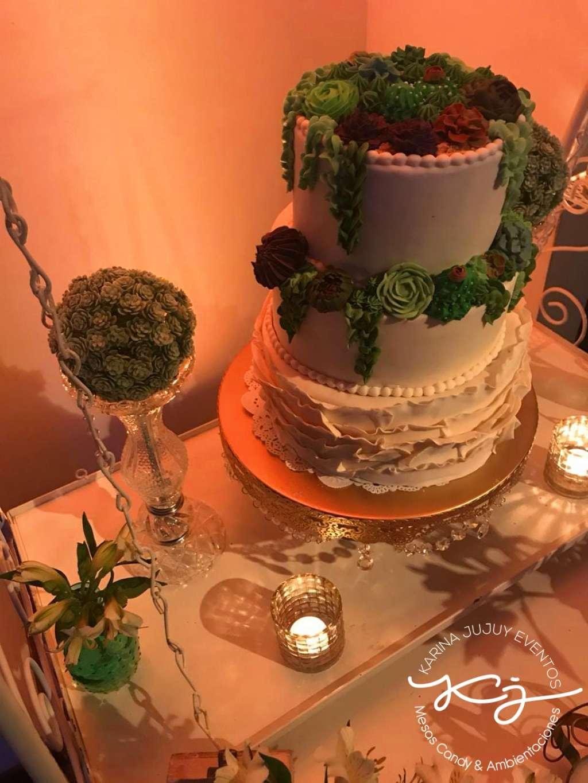 Torta XV Años & Casamiento Karina Jujuy E