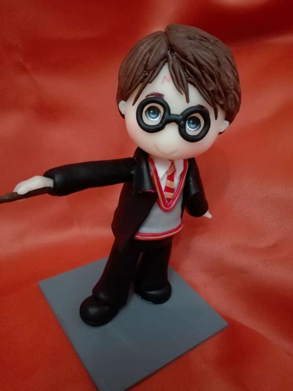 Adorno de torta Harry Potter